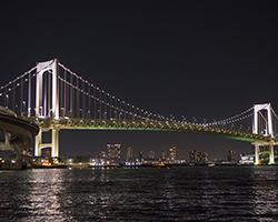屋形船からの景色 橋