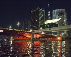 屋形船からの景色 東京スカイツリー